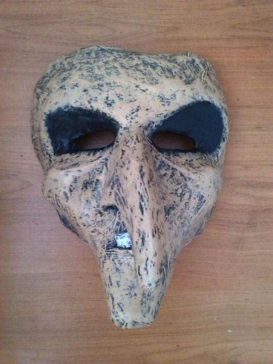 Witch Mask | Paper Mache Mask - Papyromancer