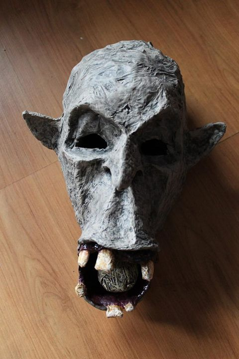 Mask of the Witch King   Paper Mask - Papyromancer