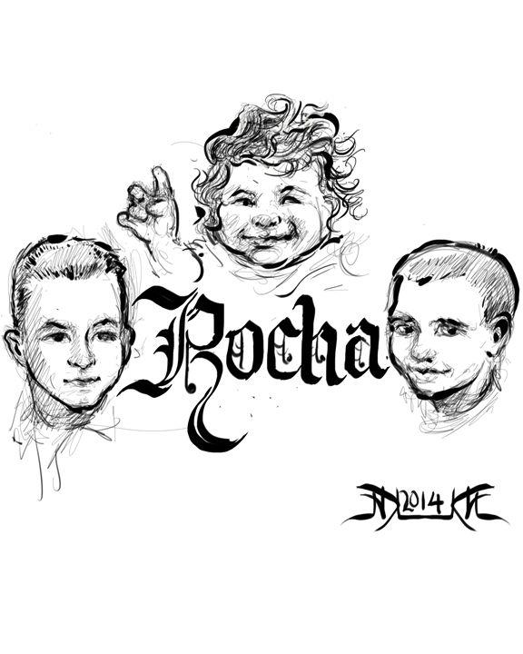 The Rocha Boys - MrDukesDrawings