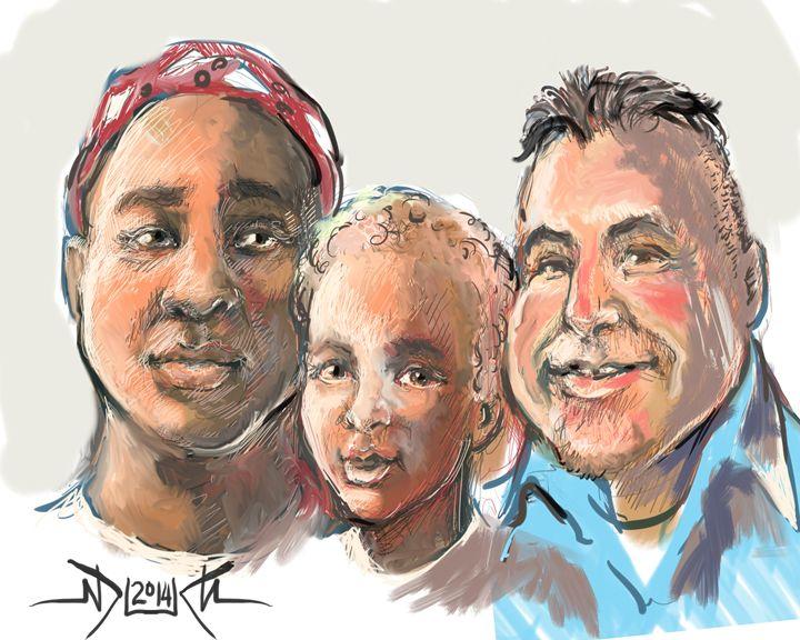 Eric, Ivory & Son - MrDukesDrawings