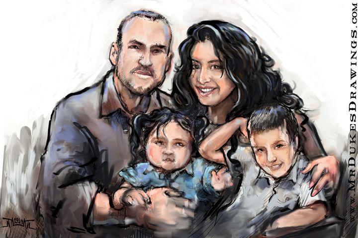 The Hoy Family - MrDukesDrawings