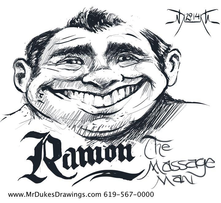 Ramon the Massage Man - MrDukesDrawings