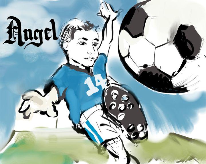 Angel 14 - MrDukesDrawings