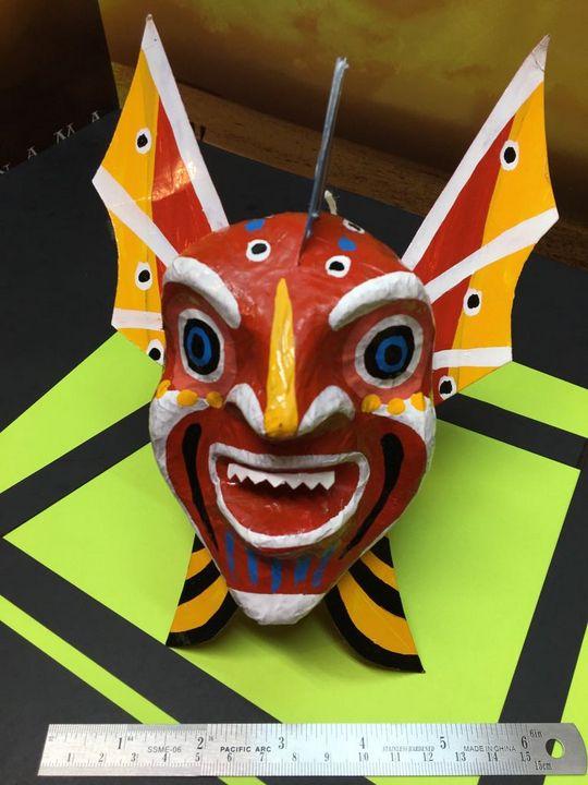Mascara de Diablico Sucio - Salsipuedes-Online.com