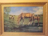 Wild Racing Horses