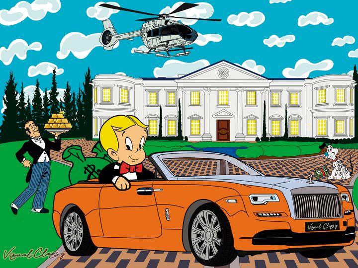 Richie rich house - Visual Classy