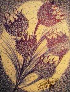 Pointy flowers