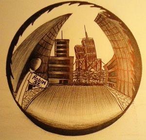 spherical city
