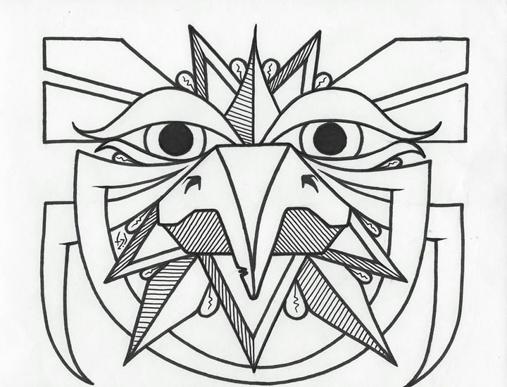 Observant Bird - TZ ART