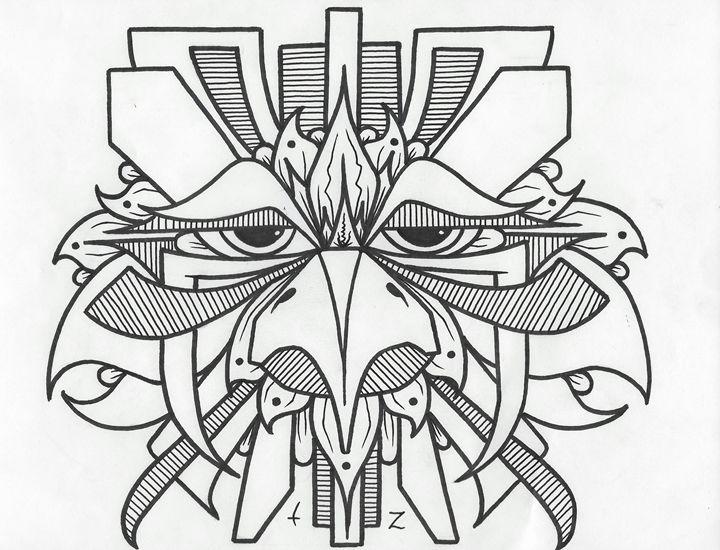 Wise Bird - TZ ART