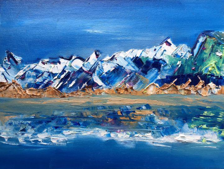 Mount Cook National Park - Erica Fairbank Art