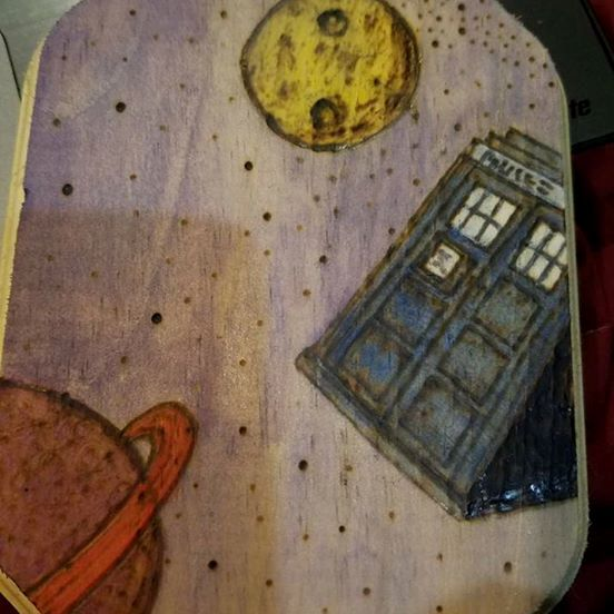 TARDIS in space - Odins Eye Art