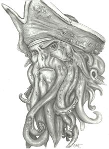 Davy Jones Portrait