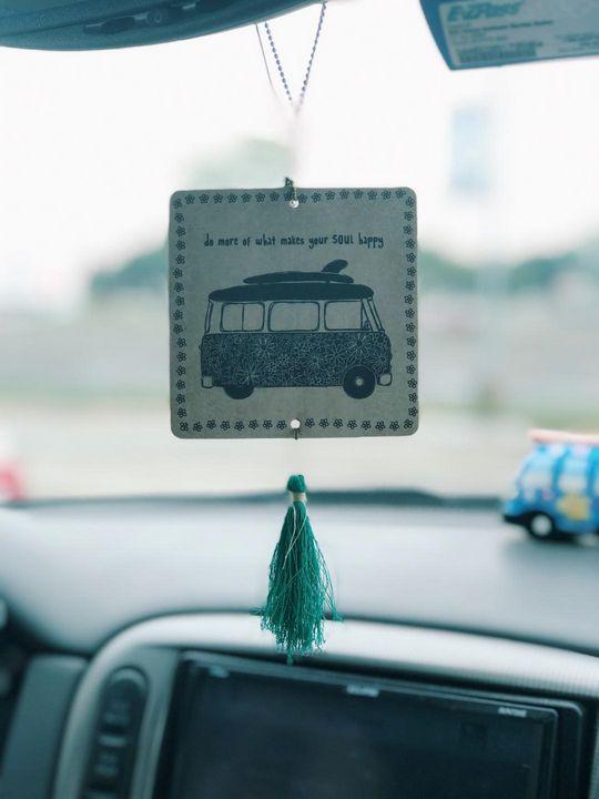 """Happy Car Vibes"" - Nordstrom Art"