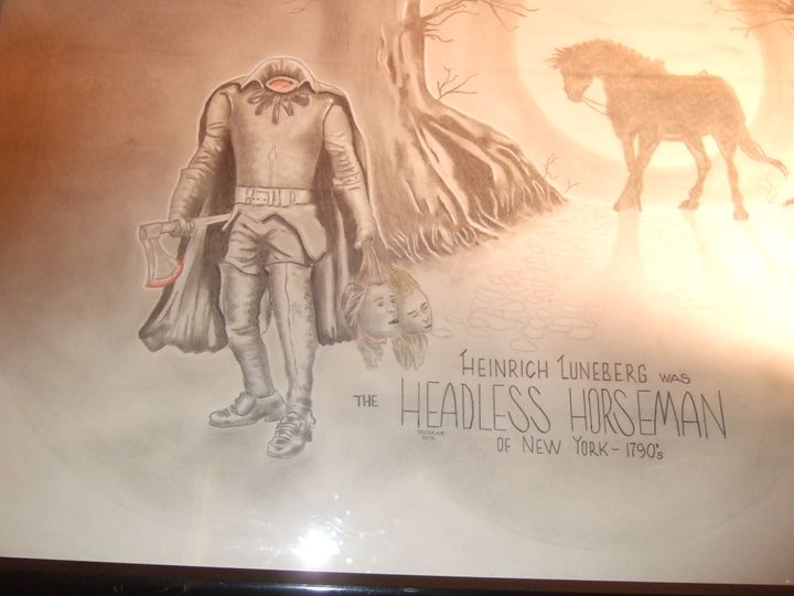 Headless Horseman - Historical faces