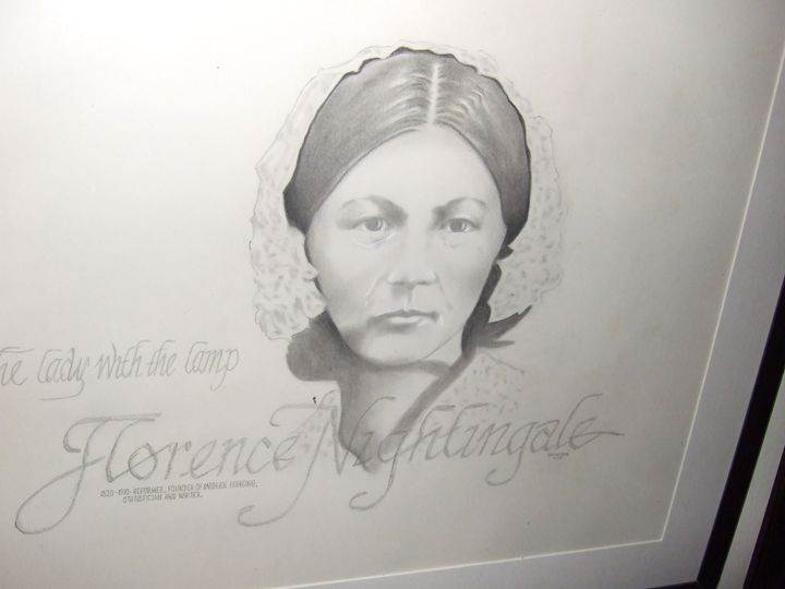 Lady with The Lamp - Historical faces
