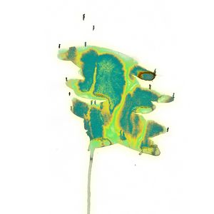 Satori story #3 Abstract painting