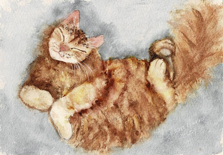 Ginger Cat - Susan Burns