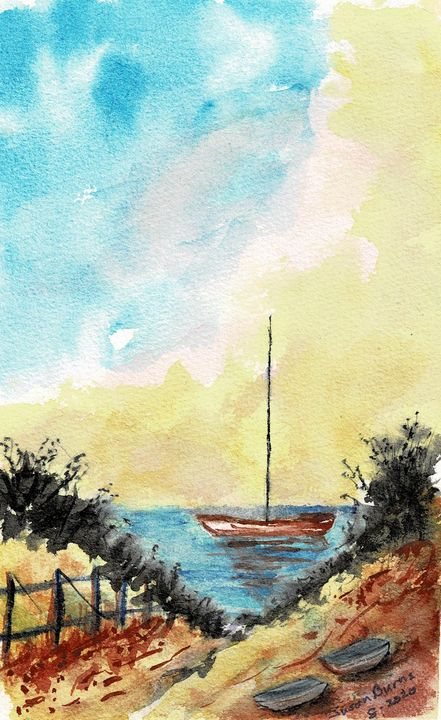 Boat at Rest - Susan Burns