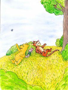 Winnie the Pooh scene