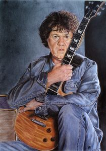 Gary Moore portrait