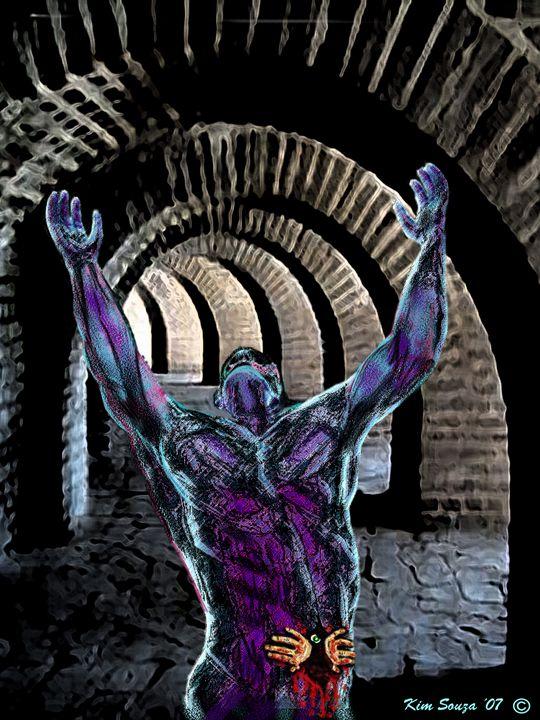 Nightmare Cave - Kim Souza Artist