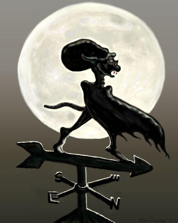 Vampire Moon - Kim Souza Artist