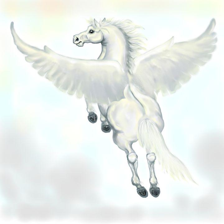 Pegasus - Kim Souza Artist