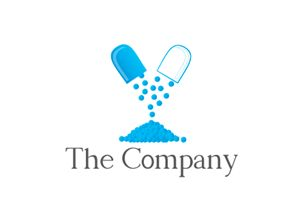 Pill Logo Design - Kim Souza Artist