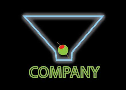 Martini Logo Design - Kim Souza Artist
