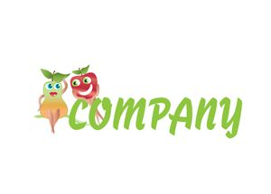 Flirty Fruits Logo Design