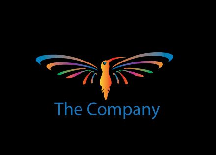 Hummingbird Logo Design - Kim Souza Artist