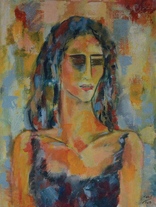 Elegant woman - Na-s Art