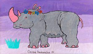 Pink Rhino (Bride)