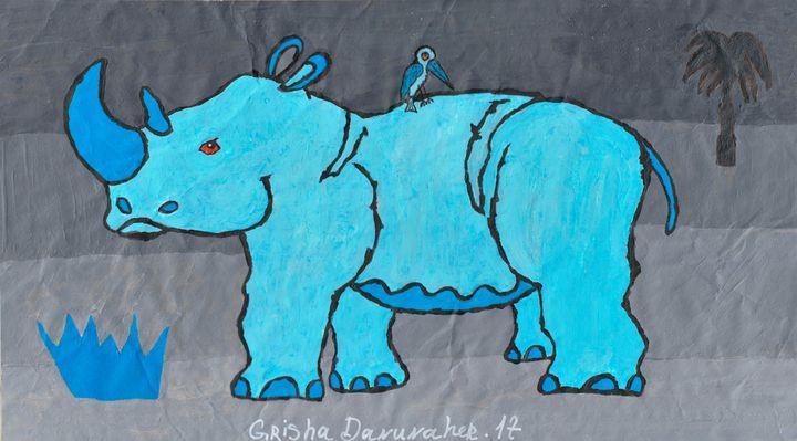 Blue Rhino - Grisha Danunaher