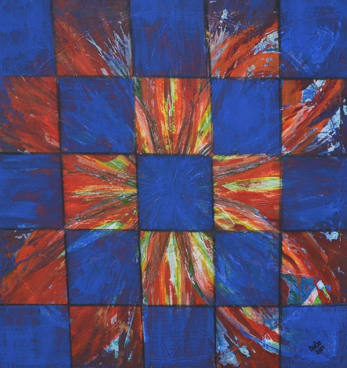 Square cubes - Bobo Design