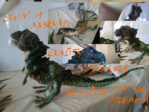 T-REX BABY HATCHLING for sale - DINOSAUR TY