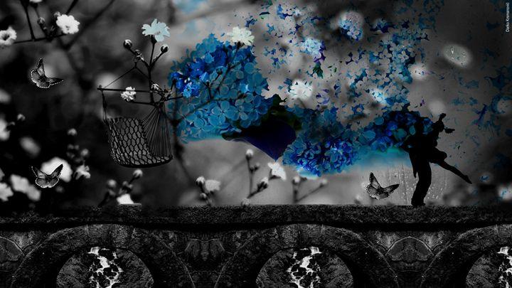 ANOTHER WORLD 04 BLUE - Darko Krsmanovic