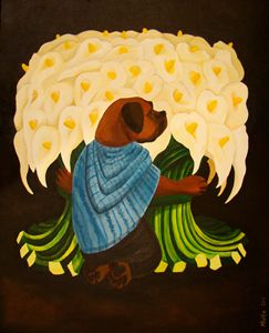 The Flower Sniffer by D. Ogo Rivera