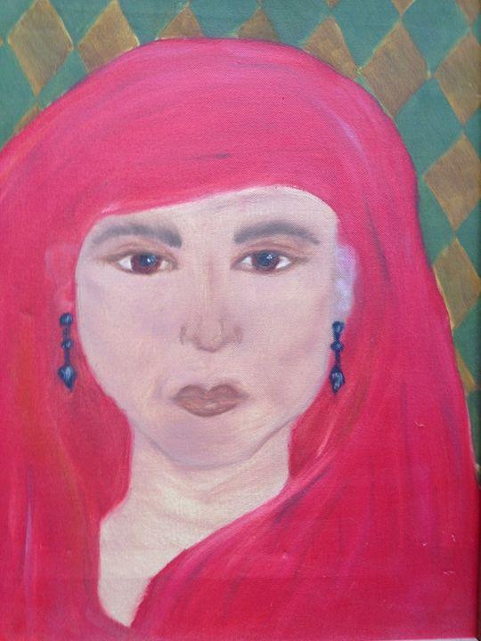 Modest Woman - Art by Farah