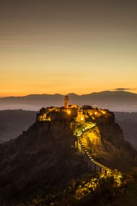 Civita di Bagnoregio at dawn