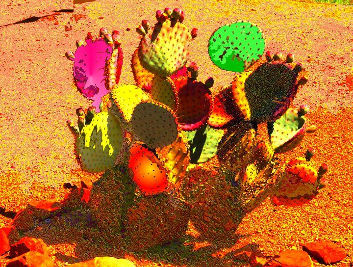 Cactus Gone Wild - Ron Irwin