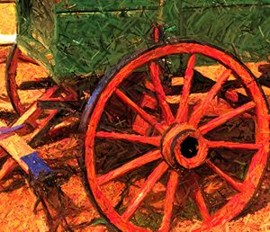 Wagon Wheel - Ron Irwin