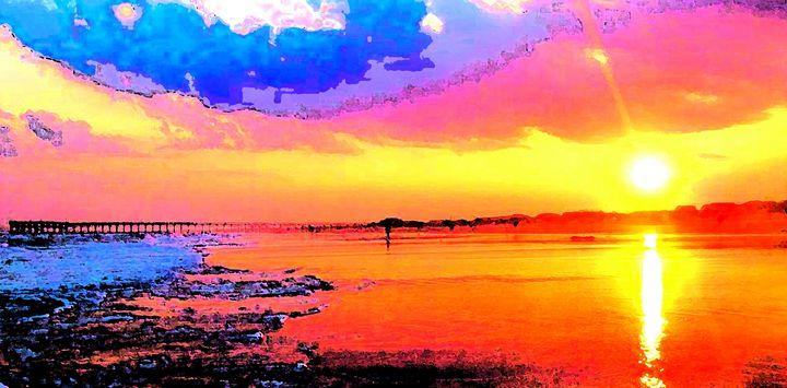 Pacific Sunset - Ron Irwin