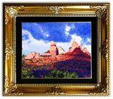 Original photo on canvas