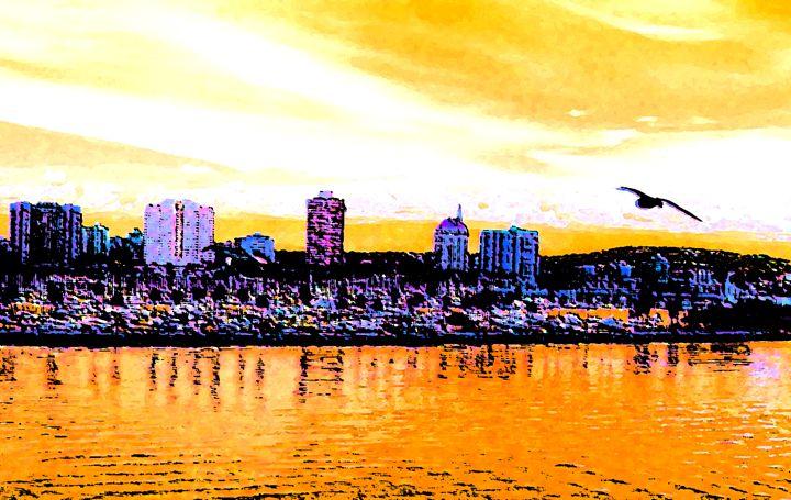 Long Beach Sunrise - Ron Irwin