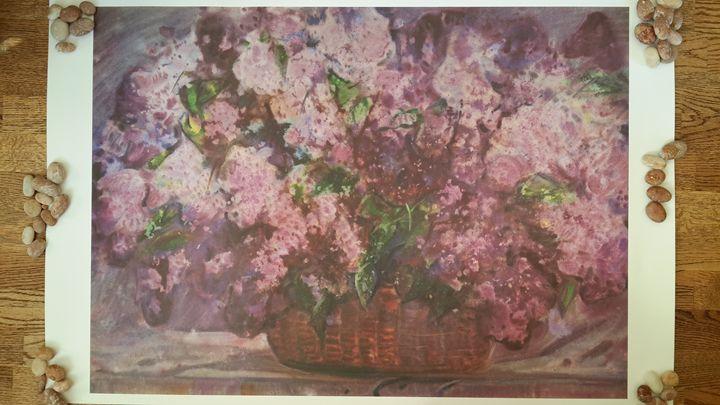 Lilacs, 1974 by Georgy Chernyavsky; - Beauty of Arts