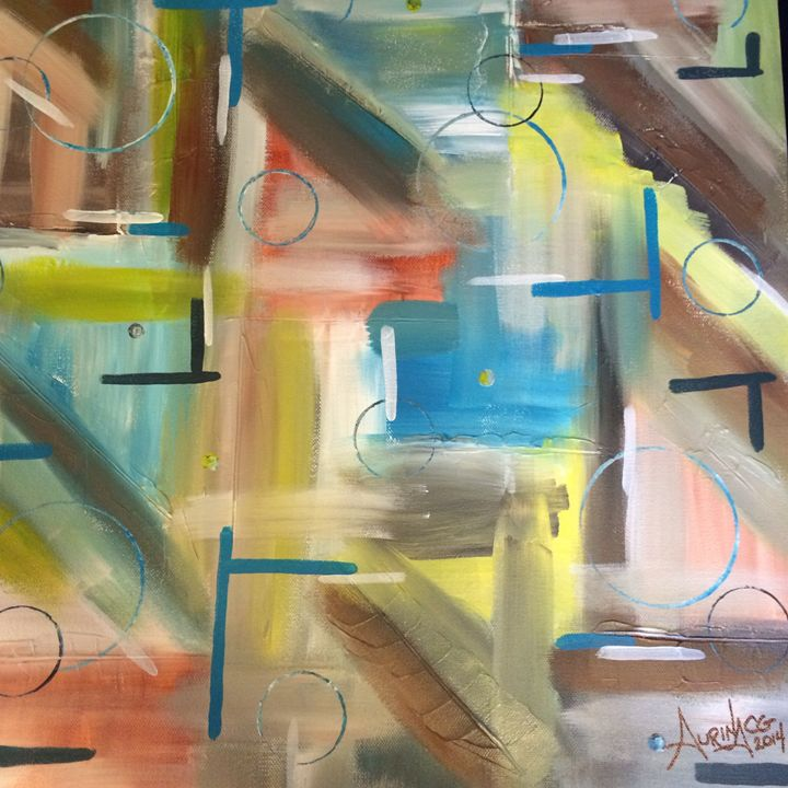 Abstract Thinking - Art by Aurina