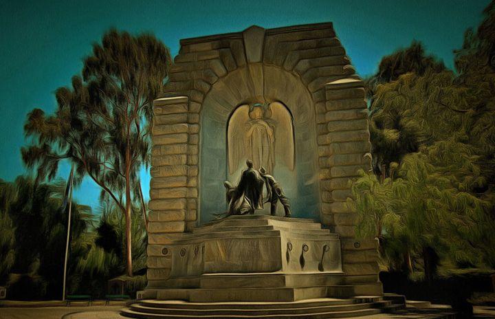 War Memorial - Alan Carson