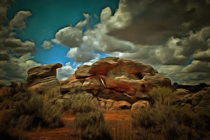 Kanyaka Rocks - Alan Carson